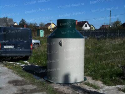 Монтаж Станции Биологической Очистки в СТ Чайка